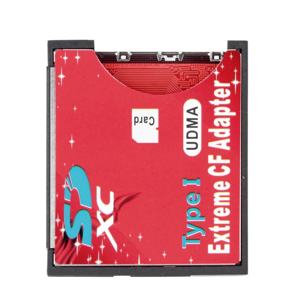 NEW SD SDHC SDXC To CF Compact Flash Memory Card Adapter Reader YKS(China (Mainland))