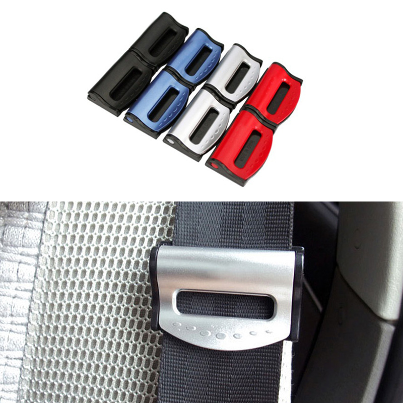 Гаджет  2pcs/Lot Car Styling Universal Seat Belts Clips Safety Stopper Auto Belt Car-Styling For Vehicles  None Автомобили и Мотоциклы