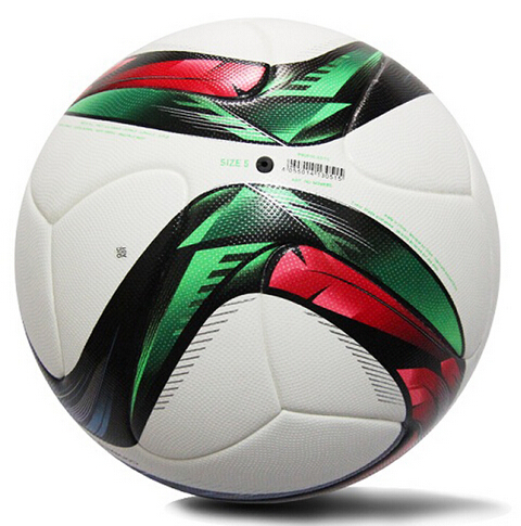 Conext15 EUROPEAN QUALIFIERS 2016 Soccer Ball office Size 5 Laminated PU Surface Football ball(China (Mainland))