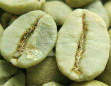 500g Brazil Bourbon Santos New Green Coffee Beans High Quality Green Slimming Coffee Bean Free Shipping