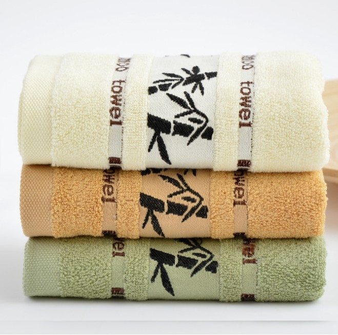 High Quality 100% Bamboo Fibre Thicken Case Toallas Home Hotel Households Novelty Items Towels(China (Mainland))