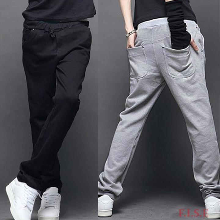 Mens Pants Joggers Brand Sweatpants Casual Fashion Outdoors Sport Training Men Legging Straight Fit Trousers 2 Colors  -  best deals store store