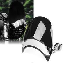 Scuro 38-45mm moto parabrezza parabrezza per harley sportster xl883 1200 nd(China (Mainland))