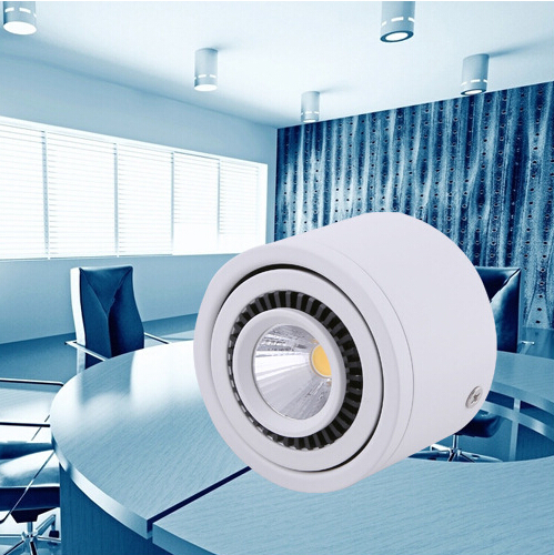 New 360 degree Rotating COB LED Downlight 15W 10W 7W Warm Cold white Spot Led Light Surface Mounted Ceiling Lamp  Free Shipping<br><br>Aliexpress
