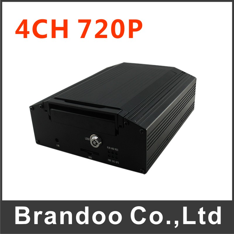 DHL Shipping BD-307 Car DVR 4 Channel Stand Alone 4CH H.264 Real-Time DVR Security Digital Video Recorder For CCTV System(China (Mainland))