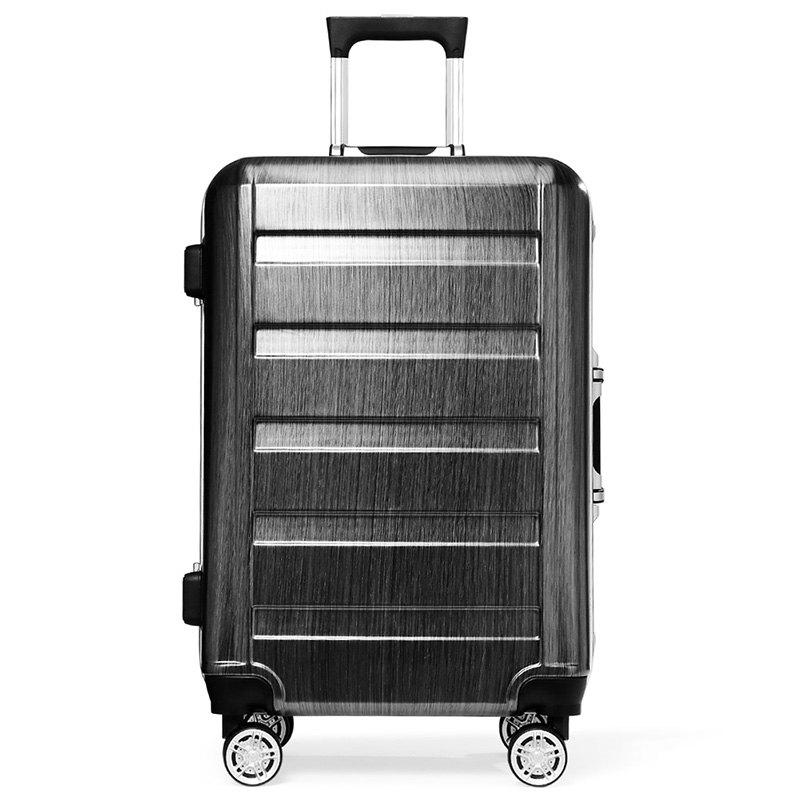 Free shipping fashion unisex spinner wheel caster universal board chassis  optional PC bulk material luggage travel bag 20&amp;24 <br><br>Aliexpress