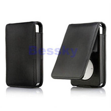 New Leather Flip Case Cover Skin For iPod Classic 80 120GB (China (Mainland))