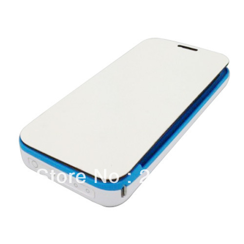 4200mAh Backup Battery Power Charger Flip Case CoverFor Samsung Galaxy S4 I9500