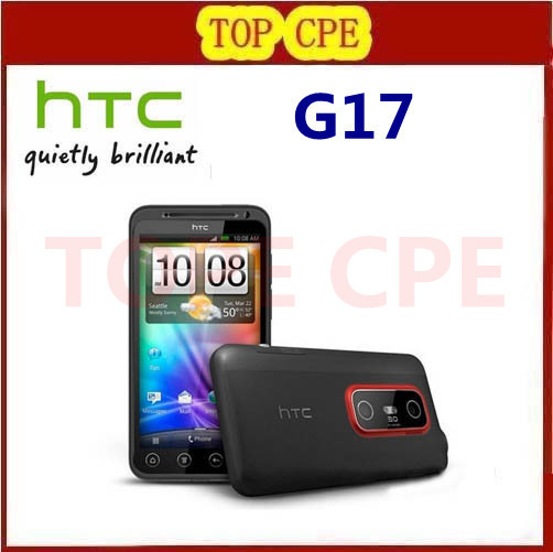 Original HTC EVO 3D G17 X515m Android 2.3 GPS WIFI 5MP 4.3''TouchScreen Unlocked Cell Phone FREE SHIPPING Refurbished(China (Mainland))
