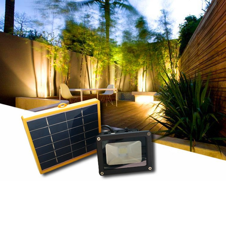 2015 New process Solar power floodlight High lumens