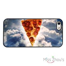 Holy Pizza Funny Joke protective back skins mobile cellphone cases cover for iphone 4/4s 5/5s 5c SE 6/6s plus ipod touch 4/5/6