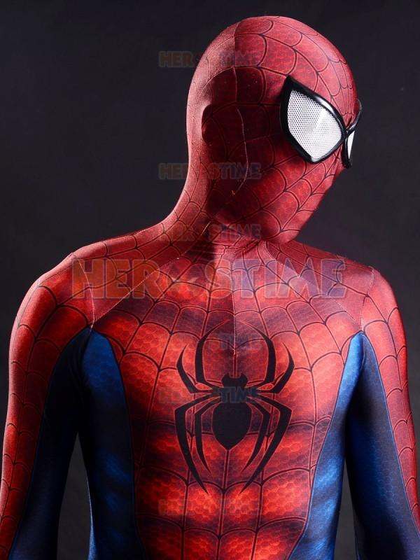 Newest Classic Spider-man costume 3D Printing Superhero Costume fullbody zentai suit