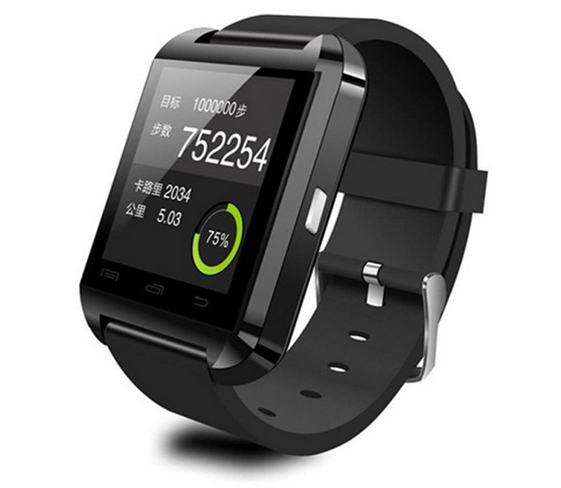 FreeShipping Smart Watch Wrist Watch U8 U Watch for all Android Phone touch screen connect all mobile phone(China (Mainland))