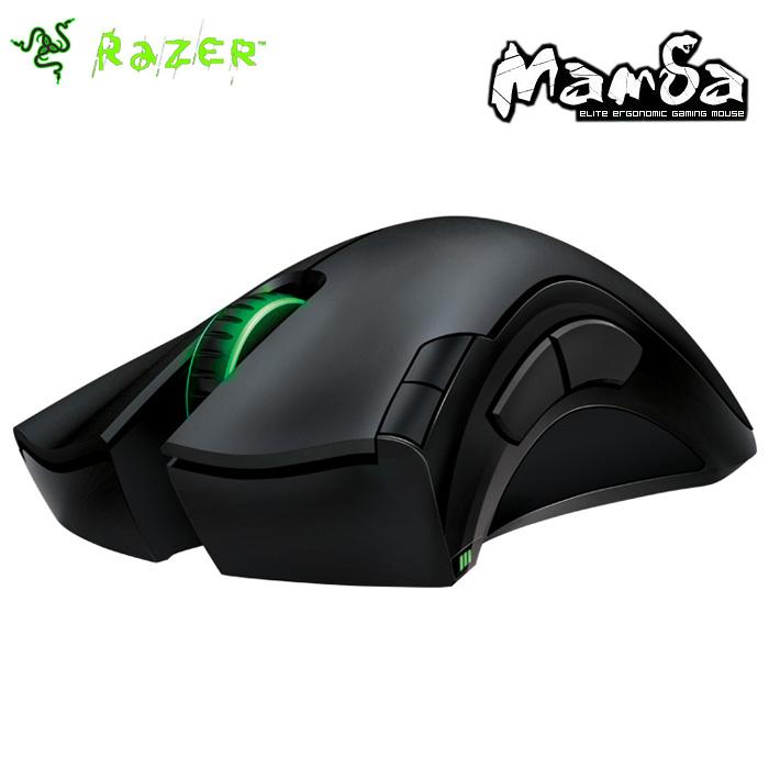 Razer Mamba 2012 gaming mouse 6400dpi 4G Dual Sensor System Gaming Grade Wireless Technology 1000Hz Ultrapolling(China (Mainland))