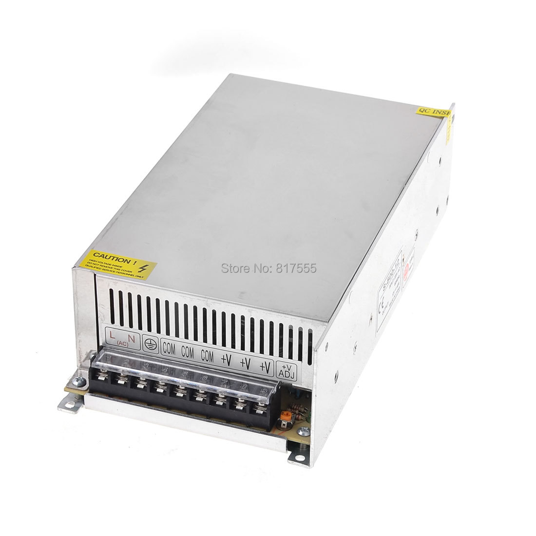 100-220VAC 12VDC 40A 480W Switch Power Supply Adapter Converter for LED Strip Discount 50(China (Mainland))