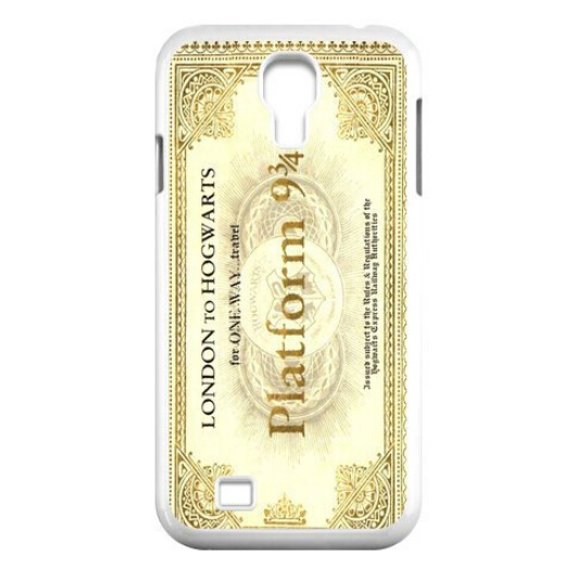 Hogwarts Train Ticket Harry Potter Protectiv HARD phone for Samsung S3 S4 S5 Note2 Note3 Free shipping(China (Mainland))