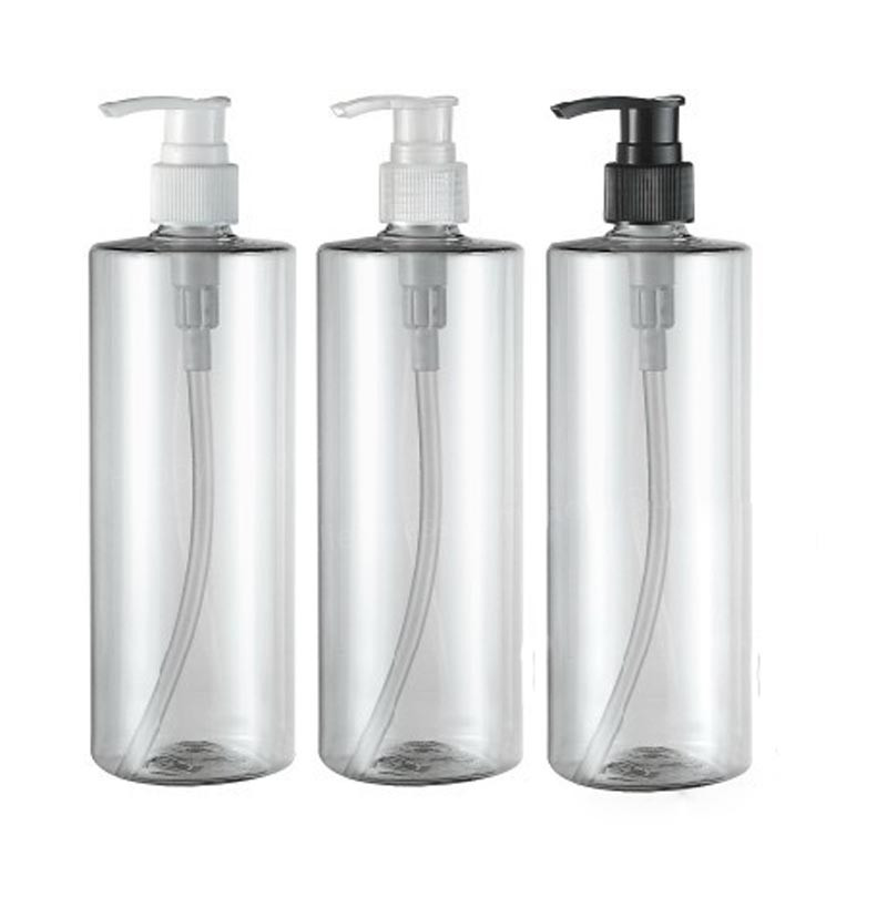 20 x 500ml Clear Transparent Empty DIY Plastic Cream Cosmetic Container 500cc Lotion and Shampoo Pump Bottle<br><br>Aliexpress