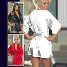 Night Gown Nightwear M|XL 6R4026  Free shipping Sexy Lace Sleepwear Robes  Hot Sale Fashion Ladies' babydolls(China (Mainland))