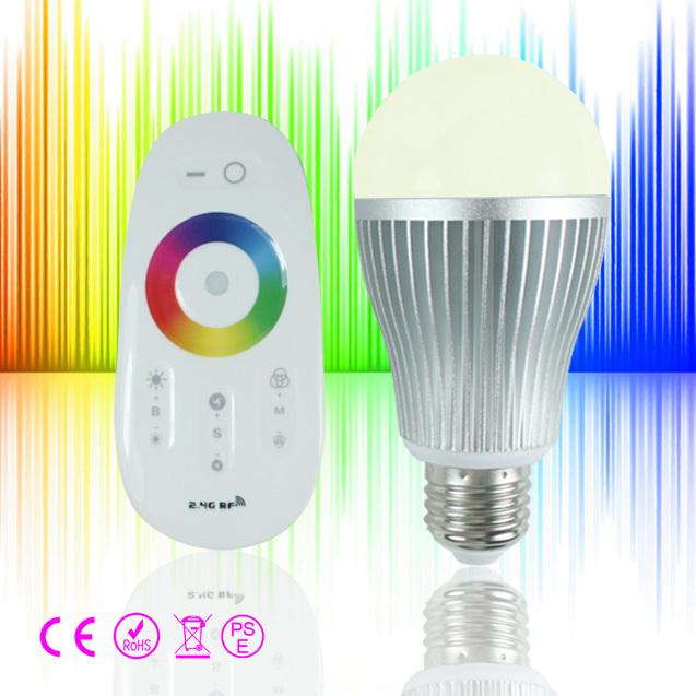 ambient color changing led light bulb 6w e26 e27 b22 light bulb wifi. Black Bedroom Furniture Sets. Home Design Ideas