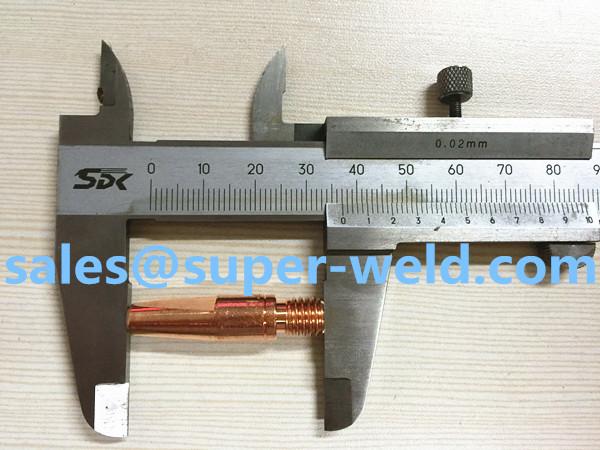 ЭСАБ контактный наконечник m8x37x1.2mm/1.4mm/1.6mm, cucrzr 0468502007