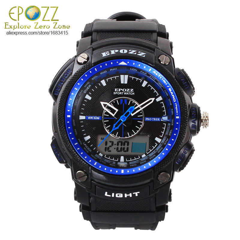 buy epozz climbing watches men sports watches outdoor wristwatches shock