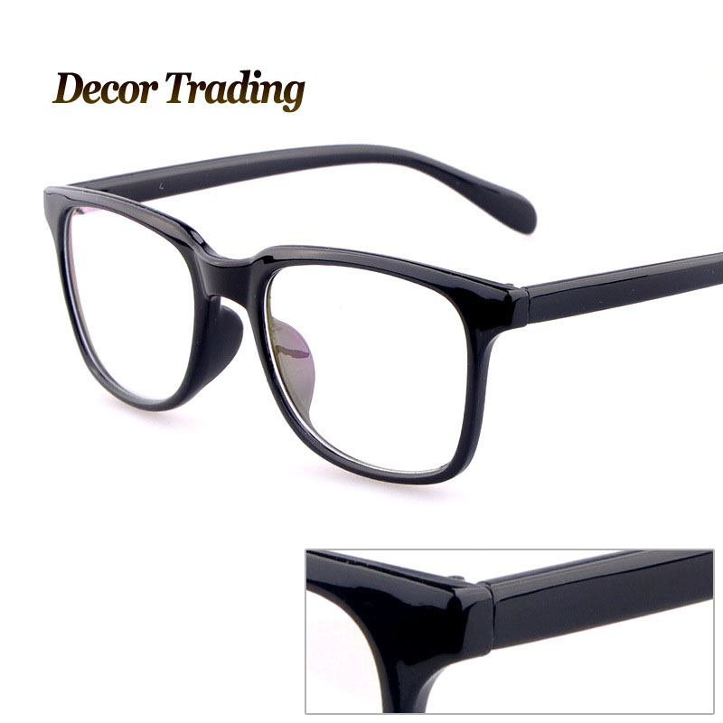 Big Framed Fashion Glasses : Big Frame Fashion Glasses Against Radiation Protection ...