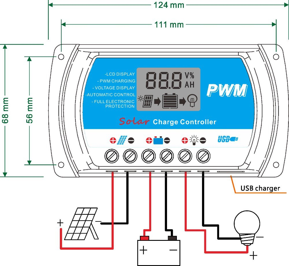 how to connect solar panel to 24v battery system