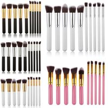 Buy Professional Makeup Brush Set 10 Pcs Beauty Women Practical Powder Soft Brushes Cosmetic Face Makeup Brushes Toiletry Cosmetic for $6.57 in AliExpress store