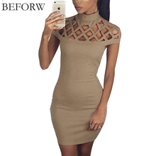 Buy BEFORW Sexy Women Dress Summer Casual Womens Bodycon Dresses Plus Size Women Clothing Mini Club White Black Bandage Pencil Dress for $8.45 in AliExpress store