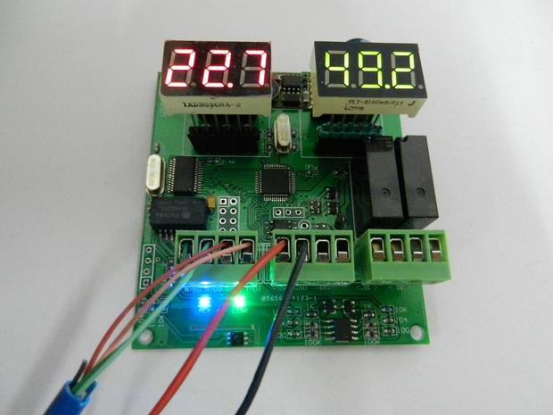 Digital temperature and humidity sensor MODBUS 4-20mA WIFI RS485 development board graduation design(China (Mainland))