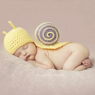 Newborn Baby Hats Crochet Photography Props Kids Patter Funny Knitted & Caps accessories Child Boys Girls - Cute Angel store