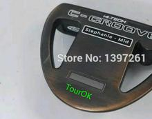 TourOK golf copper YES C - GROOVE putter head(China (Mainland))
