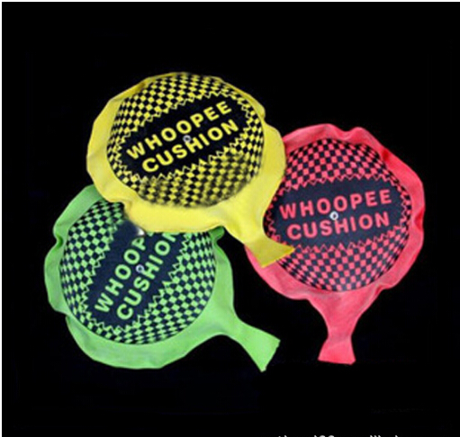 Free shipping funny Whoopee Cushion Jokes Gags Pranks Maker Trick Fun Toy Fart Pad Novelty Funny Gadgets Blague Tricky toy(China (Mainland))