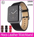 2015 New HOCO Genuine Leather Band For Apple Watch 42MM 38MM Made By First Layer Cattle