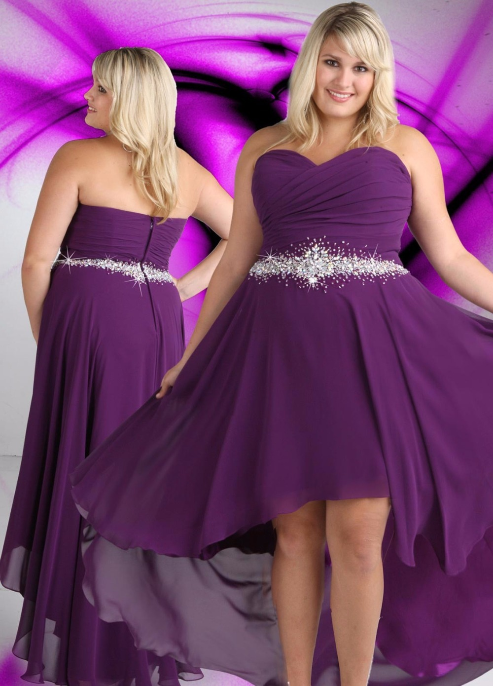 Plus size dress 24 carat