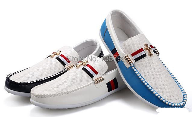 free shipping Men's casual shoes popular men's boat shoes, shoes Peas(China (Mainland))