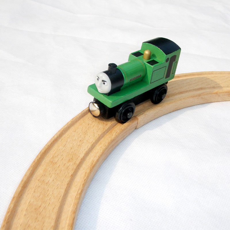 """Free shipping hot sale """" Smudger"""" model Wooden Magnetic Thomas and Friends toys baby learning & education classic toys -DS005(China (Mainland))"""