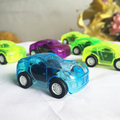 Cars For Child Hot Wheels Mini Car Model Kids Toys For Boys 1Pcs Candy Color Pull