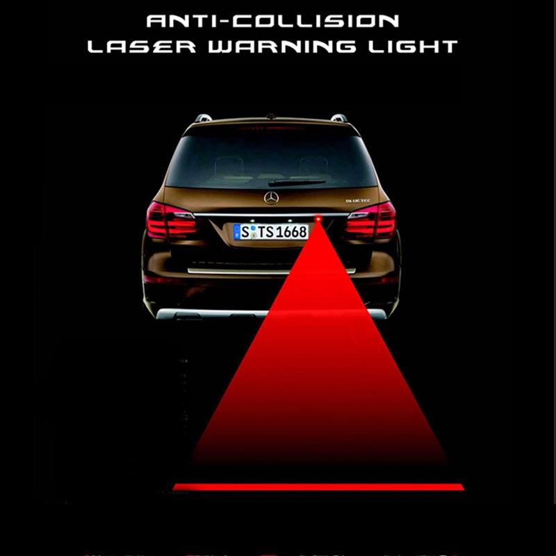Anti Rear-end Car Rear Led Laser Fog Light Warning Auto License Plate Tail Lamp external lights 12V - Zhejiang Day Bright Trading Co., Ltd. store