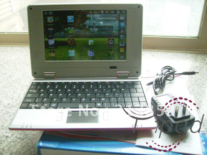Support 3G notebook 7inch EPC VIA 8650 android 2.2 UMPC Notebook mini laptop(China (Mainland))