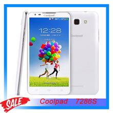 Original Coolpad 7296S 5.5 inch 3G Android 4.2 Smart Phone MTK6589M Quad Core 1.2GHz RAM 1GB+ROM 4GB Dual SIM WCDMA & GSM