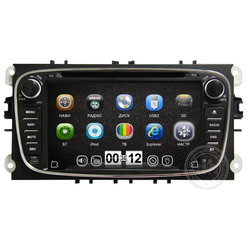 Car DVD GPS Navigation System for Ford Mondeo Focus S-max 2008 2009 2010 2011 With 3G GPS BT Radio Audio TV IPOD+ Free shipping(China (Mainland))