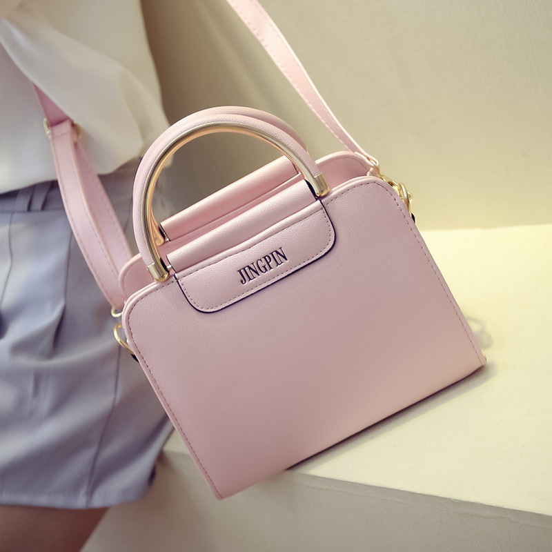 Ladies Bags 2016 Summer Leather Handbags Fashion Handbag Women Shoulder Tote Bag Messenger Bags(China (Mainland))