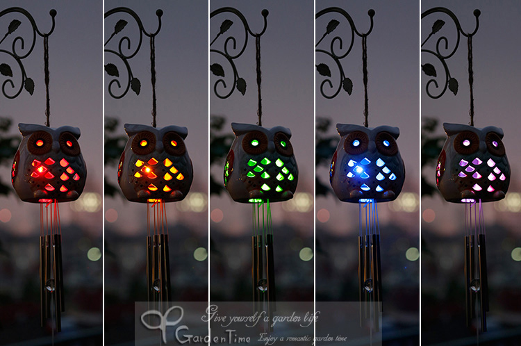 Led light street picture more detailed picture about garden decor solar light animal owl shape - Home decoration light property ...
