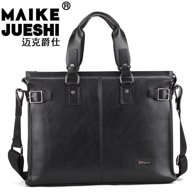 Mike male bag handbag messenger bag business bag laptop bag casual bag a 4 paper male bags
