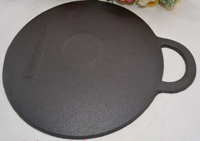 30cm round cast iron griddle(China (Mainland))