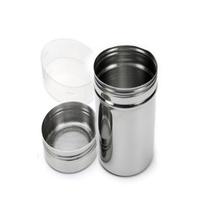 2016 Direct Selling Cover Metal Mason Jars Spice Jar Mason Jar New Salt Pepper Spice Sugar Shaker Dispenser Heavy Duty Dredge (China (Mainland))