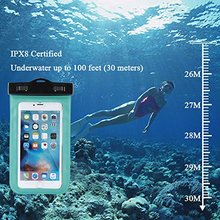 """Waterproof Case For iphone 6 6 Plus Universal 5.5"""" Underwater Cell Phone Pouch Dry Bag For Samsung HTC Huawei Waterproof bag(China (Mainland))"""