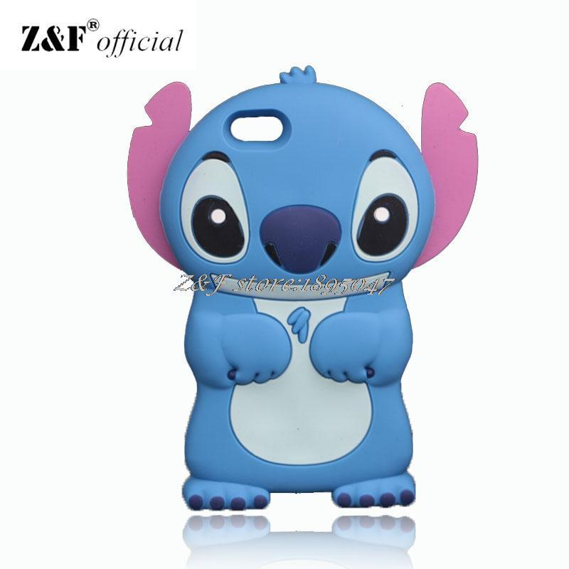Stitch Case For Apple iPhone 4 4S SE 5 5G 5S 6 6S Plus Star Baby Lilo Cases for iPod Touch 4 5 6 Soft Silicone Cover(China (Mainland))