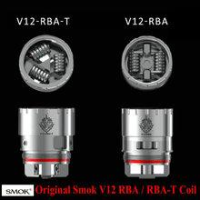 Buy 100% Original SMOK TFV12 RBA Dual Coil / V12-RBA-T Triple Coil Electronic Cigarette RBA Coil Head for SMOK TFV12 Tank Atomizer for $11.09 in AliExpress store